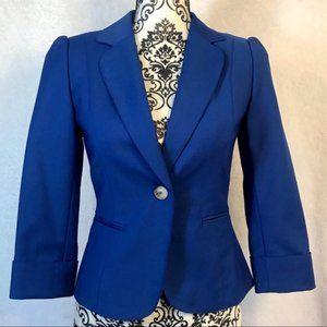 Antonio Melani Royal Blue Blazer Size 4